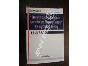 Tenofovir Disoproxil Fumarate, Lamivudine and Efavirenz Tables IP 300 mg/300 mg/600 mg