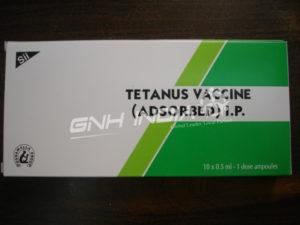 Tetanus Vaccine (Adsorped) I.P