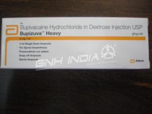 Bupivacaine Hydrochloride in dextrose (Bupizuva Heavy)