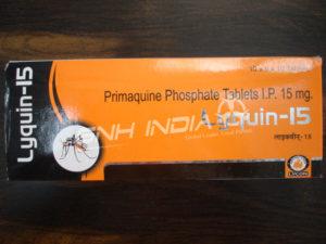 Primaquine phosphate (Lyquin-15)