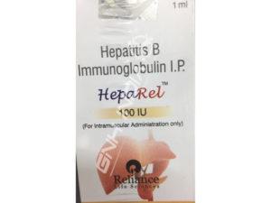 Hepatitis B Immunoglobulin (Heparel 100 IU/ml)