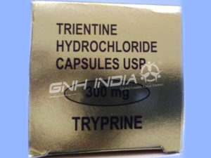 Tryprine 300mg - Trientine Hydrochloride