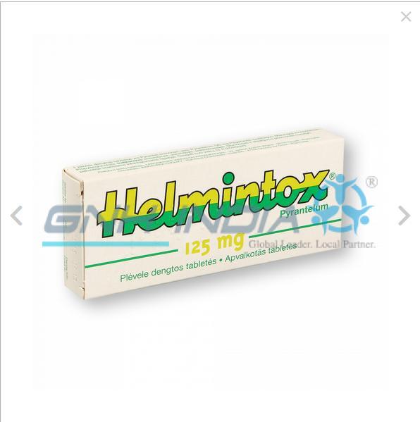 Helmintox pyrantel 125mg
