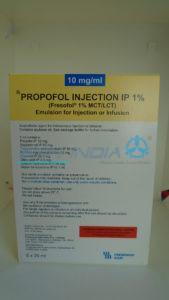 Propofol IP MCT/LCT - Fresofol 1%