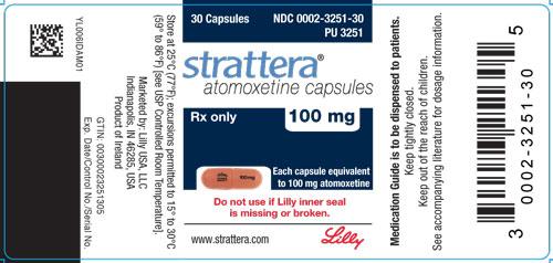 Atomoxetine hydrochloride (Strattera)