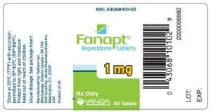 iloperidone (Fanapt)
