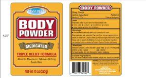 Menthol (Assured Medicated Body Powder)