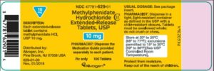 methylphenidate hydrochloride (METHYLPHENIDATE HYDROCHLORIDE)