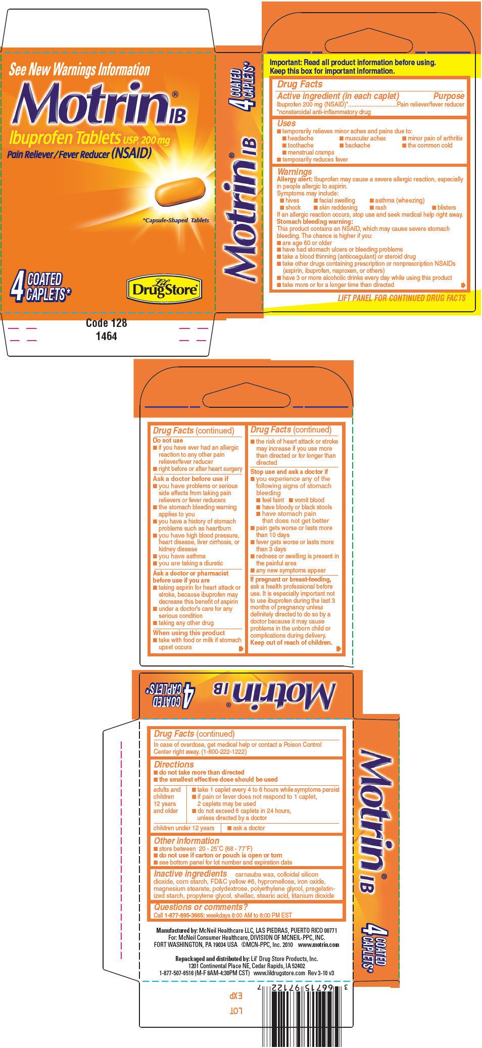 Ibuprofen (Motrin IB)