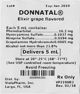 phenobarbital, hyoscyamine sulfate, atropine sulfate, scopolamine hydrobromide (Donnatal)
