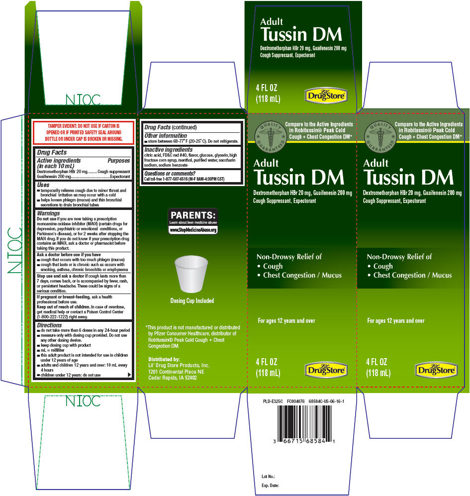 Dextromethorphan Hydrobromide and Guaifenesin - Lil Drug Store Products (Adult Tussin DM)