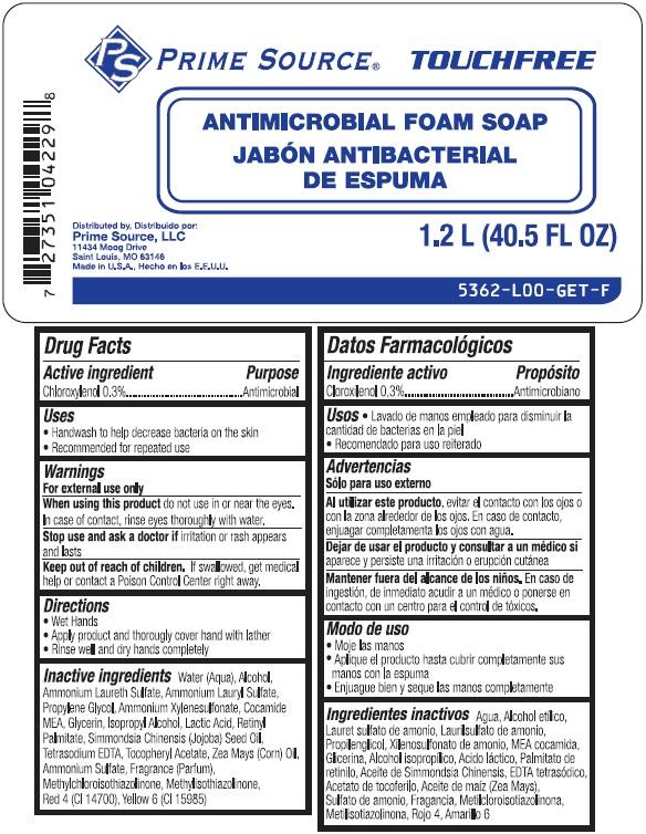 Chloroxylenol (PRIME SOURCE Antimicrobial Foam So ap)