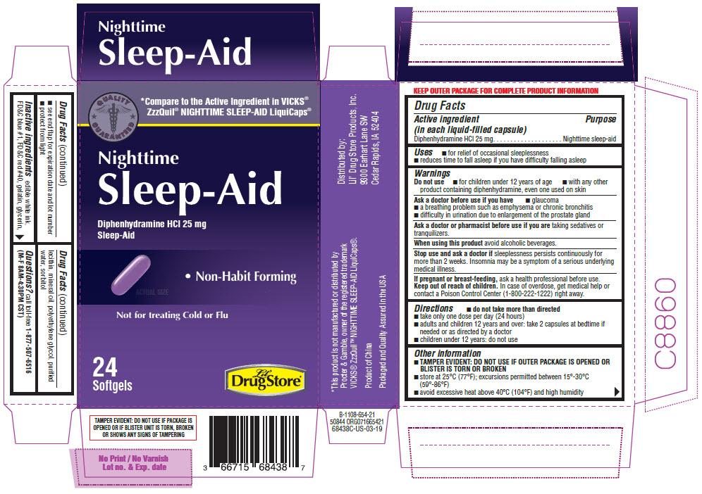 Diphenhydramine Hydrochloride (Nighttime Sleep Aid)