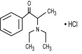 Diethylpropion hydrochloride (Diethylpropion HCl Immediate-Release)