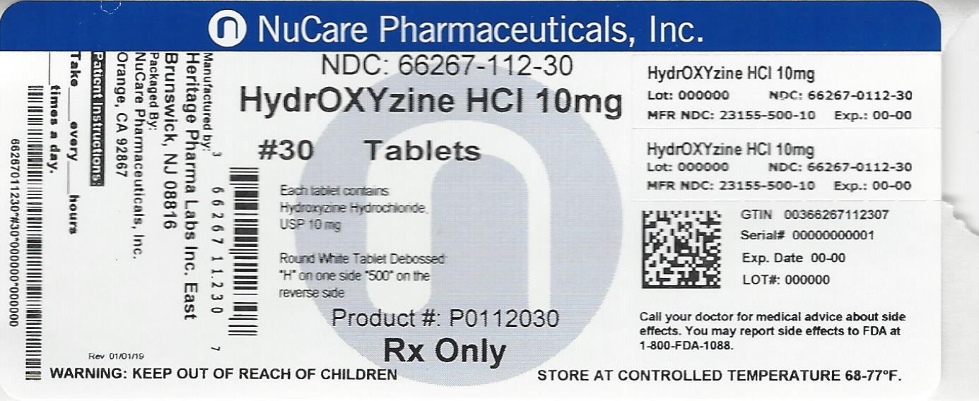Hydroxyzine Hydrochloride (Hydroxyzine Hydrochloride)