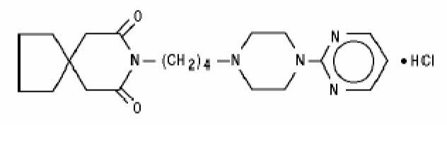 Buspirone hydrochloride (Buspirone hydrochloride)
