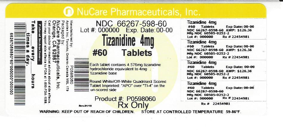 tizanidine (tizanidine)