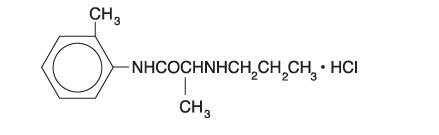 prilocaine HCl and epinephrine (Citanest Forte DENTAL)