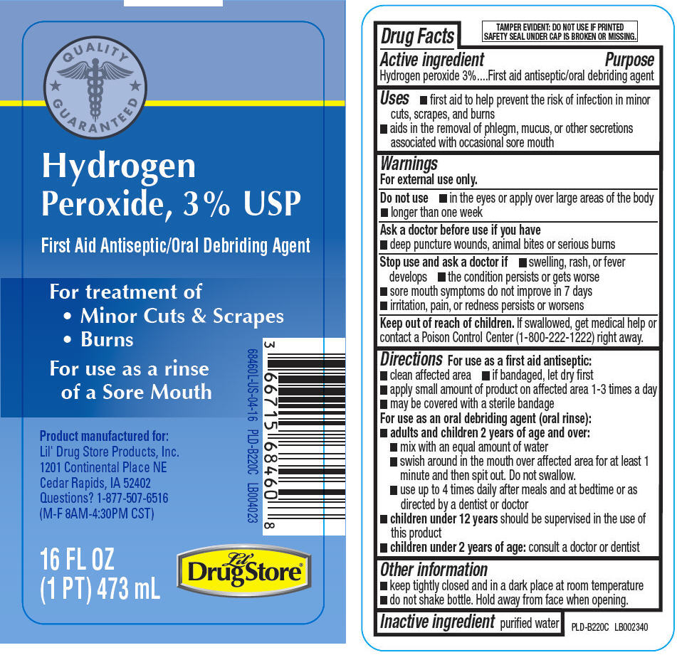 Hydrogen Peroxide - Lil Drug Store Products (Hydrogen Peroxide)
