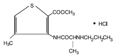 Articaine hydrochloride and Epinephrine Bitartrate (Articadent)