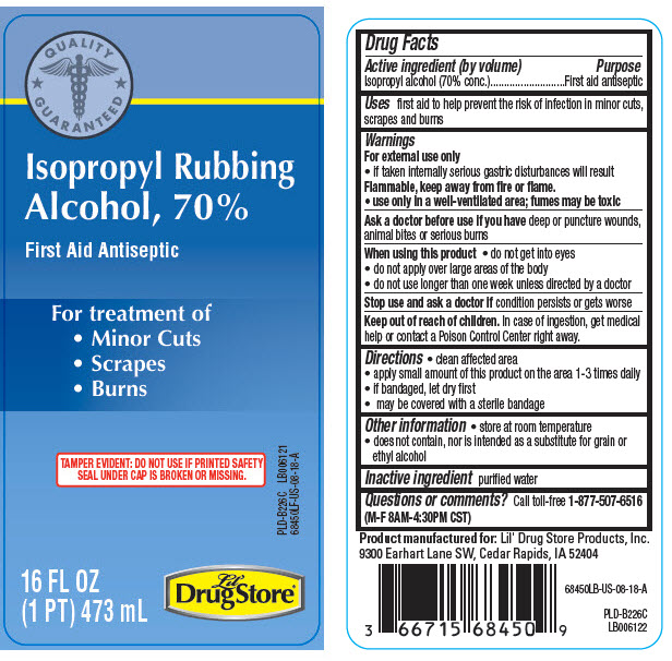Isopropyl alcohol - Lil Drug Store Products (Isopropyl Rubbing Alcohol)