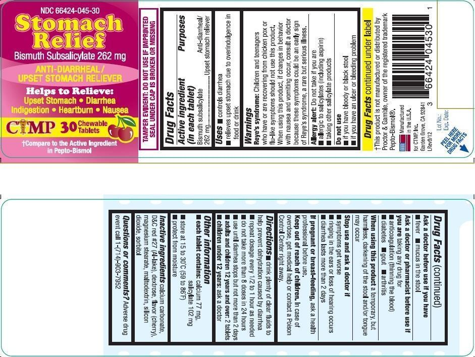 Bismuth Subsalicylate (Stomach Relief)