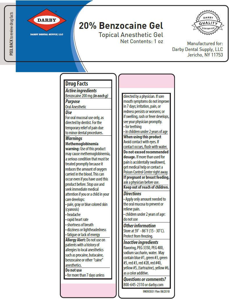 Benzocaine - Raspberry (BENZOCAINE)