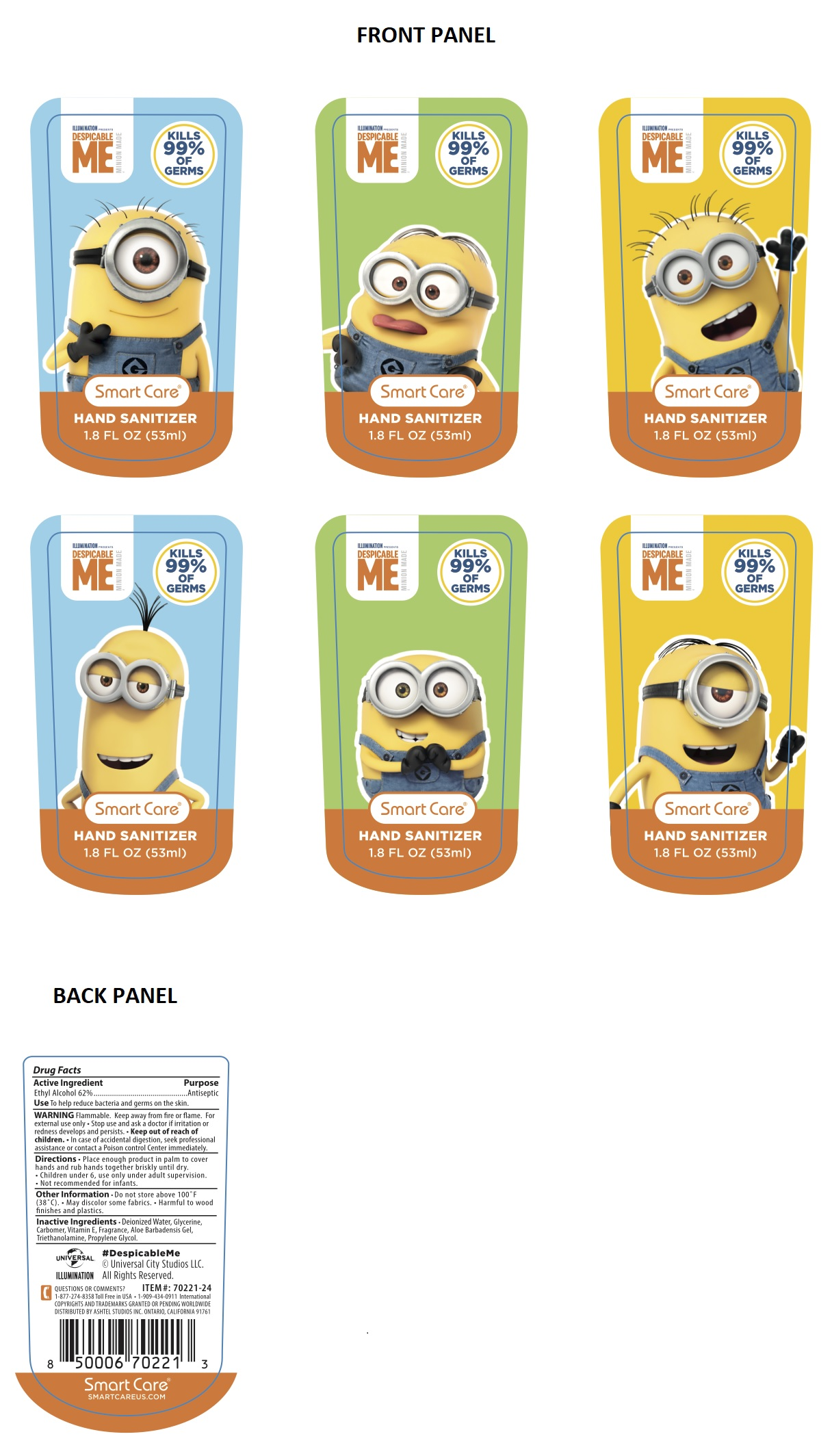 Ethyl Alcohol (Minions Hand Sanitizer)
