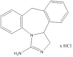 EPINASTINE HYDROCHLORIDE (EPINASTINE HYDROCHLORIDE)