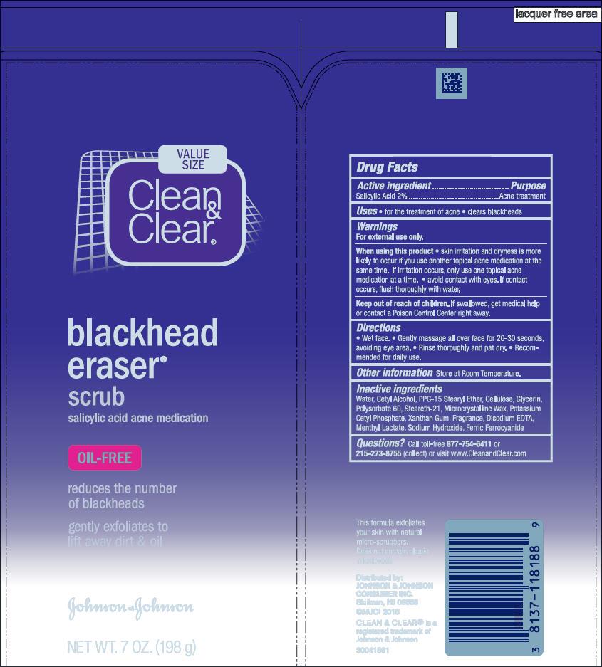Salicylic Acid (Clean and Clear blackhead eraser scrub)