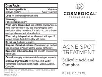 Salicylic Acid Acne Treatment (Acne Spot Treatment)