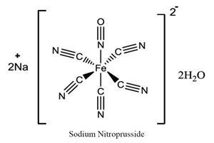Sodium nitroprusside (Sodium nitroprusside)