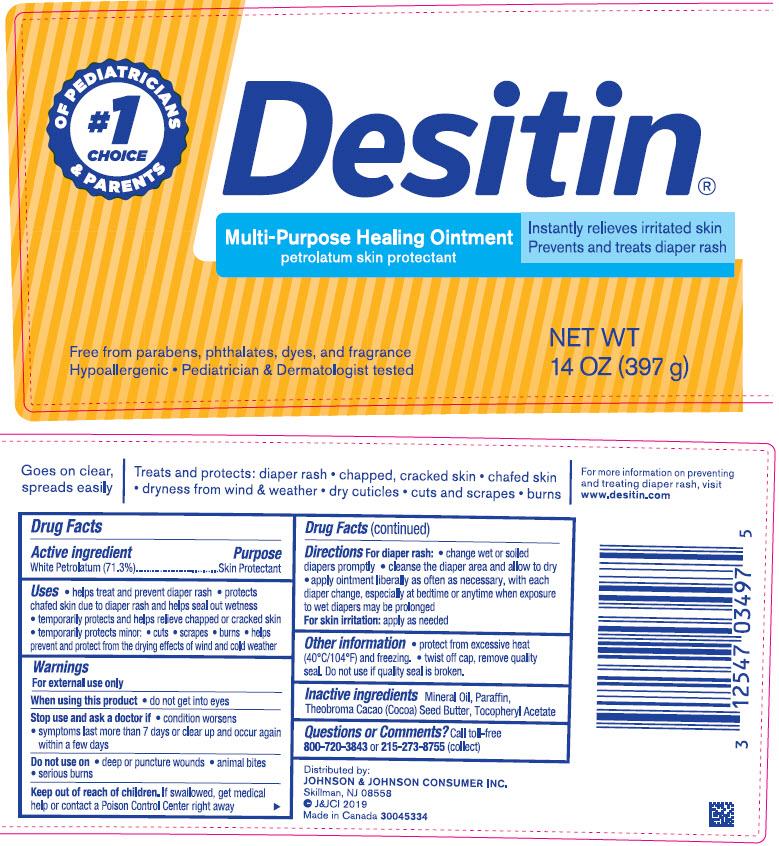 Petrolatum (Desitin Multi-Purpose Healing)