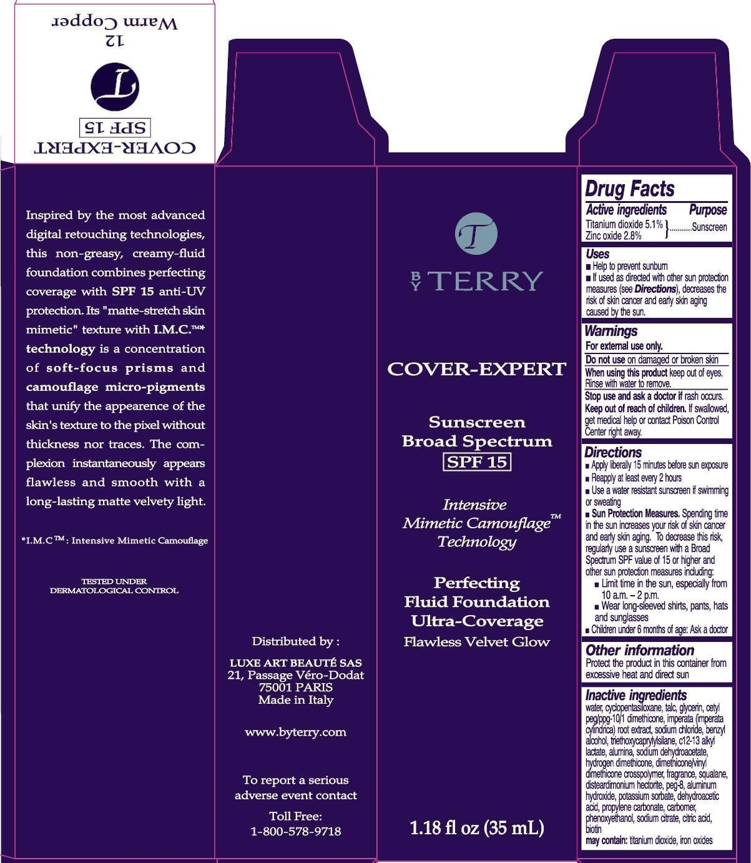 TITANIUM DIOXIDE, ZINC OXIDE (Cover-Expert Sunscreen Broad Spectrum SPF 15 No.12 Warm Copper)