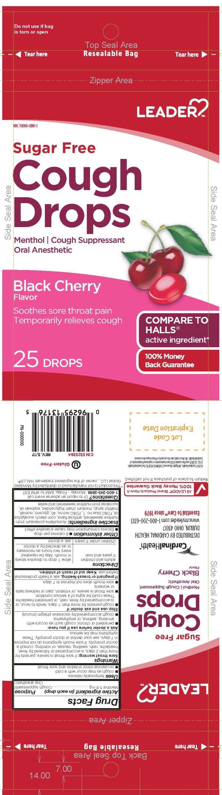 Menthol (SF Cherry Cough Drop)