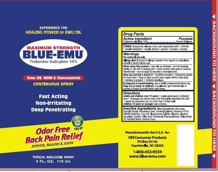 Trolamine Salicylate - Blu Emu (Maximum Strength Blue Emu Pain Relief)