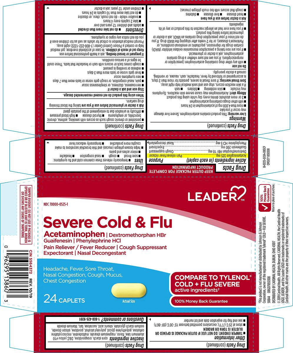 Acetaminophen, Dextromethorphan HBr, Guaifenesin, Phenylephrine HCl (Severe Cold and Flu)