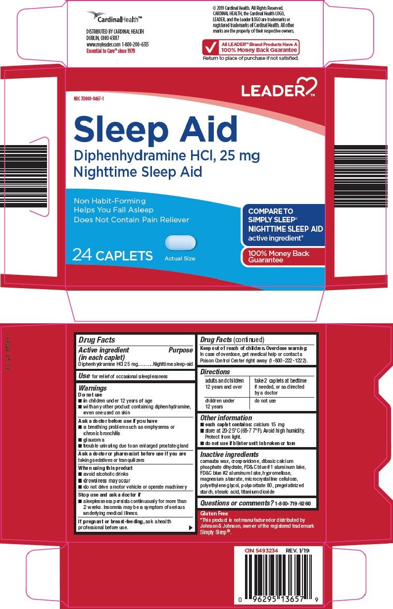 Diphenhydramine Hydrochloride (leader sleep aid)