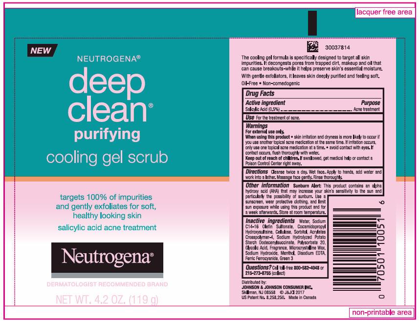 Salicylic Acid (Neutrogena deep clean cooling scrub)