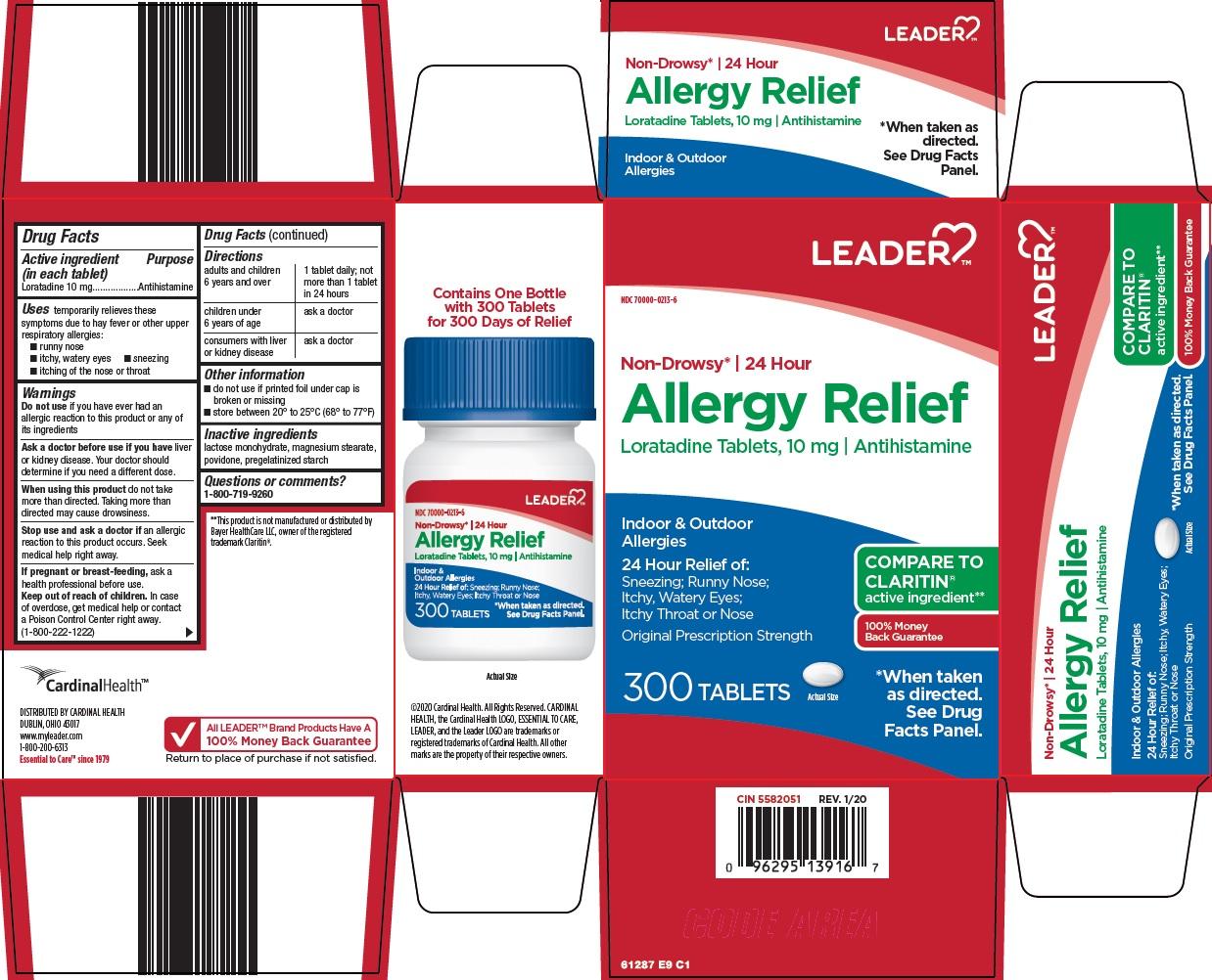 Loratadine (Leader Allergy Relief)