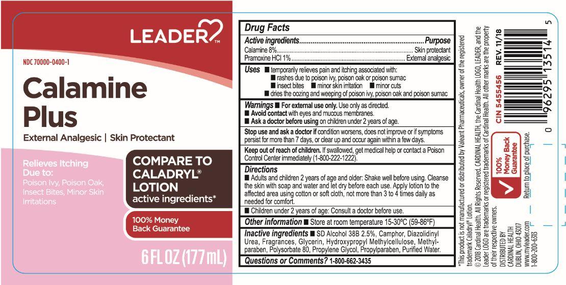 zinc oxide lotion (Leader Calamine Plus)