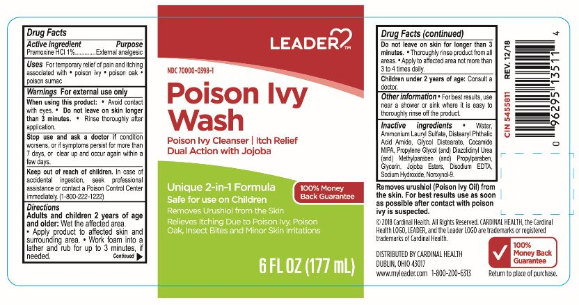 pramoxine hydrochloride lotion (Leader Poison Ivy Wash)