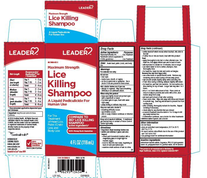 Piperonyl butoxide, Pyrethrum extract (Leader Lice Killing)