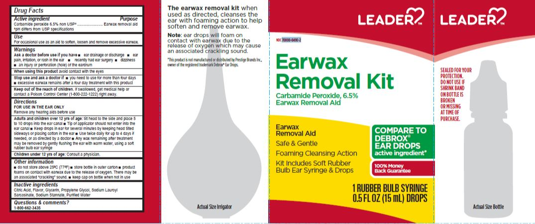 carbamide peroxide 6.50% kit (LEADER Earwax Removal Kit)