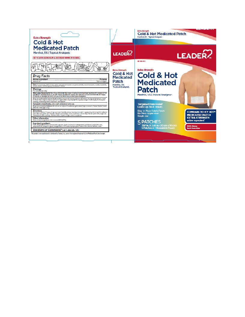 MENTHOL (Extra Strength Cold-Hot Medicated Patches)