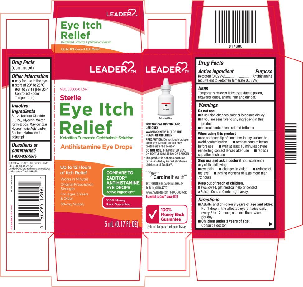Ketotifen Fumarate (Eye Itch Relief)