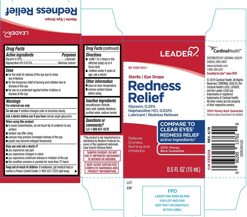 Glycerin, Naphazoline hydrochloride (Leader Eye Drops Redness Relief)