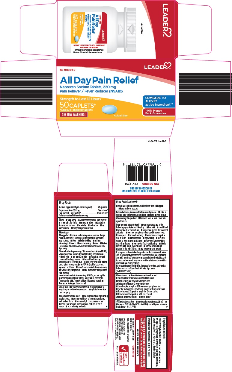 Naproxen Sodium (Leader All Day Pain Relief)