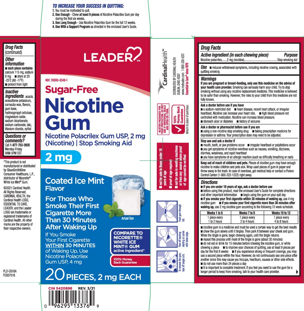 Nicotine Polacrilex - Coated Ice Mint (Nicotine Polacrilex)