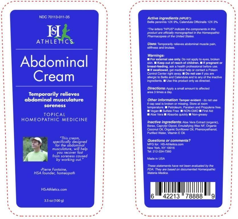 Bellis perennis, Calendula Officinalis (Abdominal Cream)